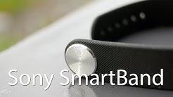 Sony SmartBand -aktiivisuusranneke