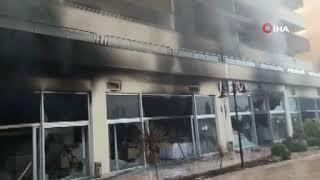 Hatay'da Termal Otelde Yangın Hatayinternettv.com