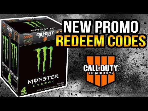 Black Ops 4 - How To Redeem 2XP Codes (Monster Energy)