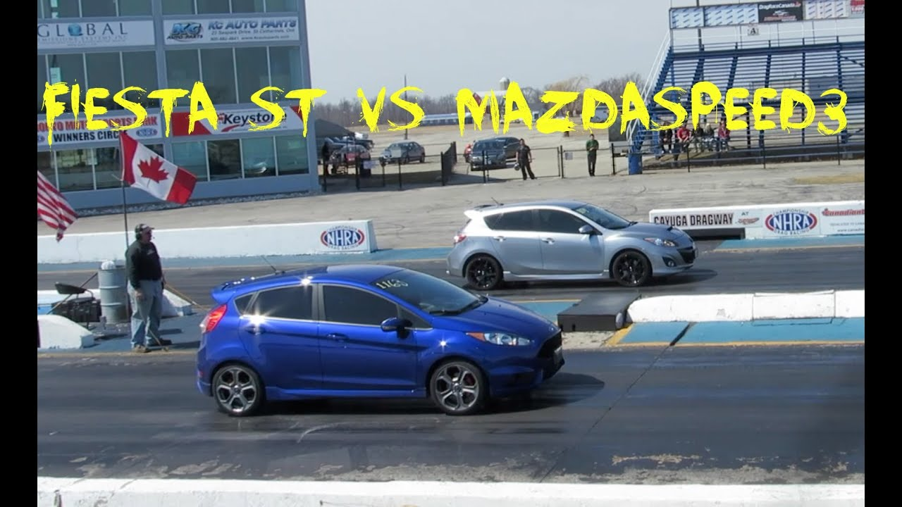 2014 Ford Fiesta ST VS 2012 Mazdaspeed3