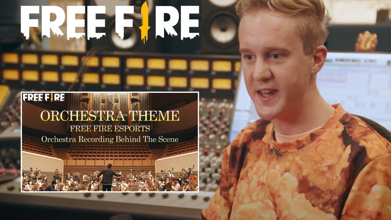 2021.5.2 「FREE FIRE」テーマ曲のレコーディング映像公開