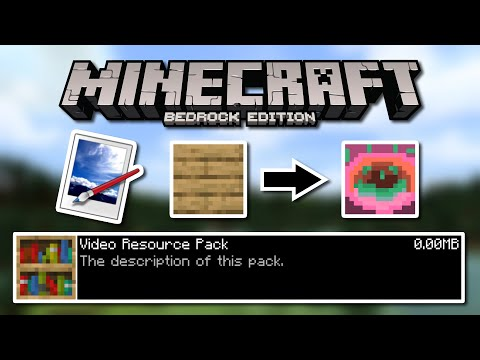 Editing Textures - How To Make A Minecraft: Bedrock Edition Resource Pack