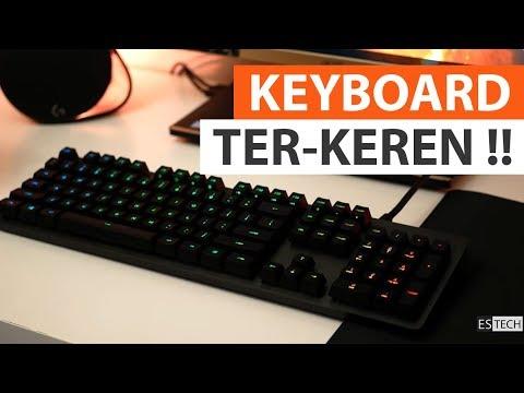Keyboard Gaming Terbaik ? | Review Logitech G512 Carbon Tactile