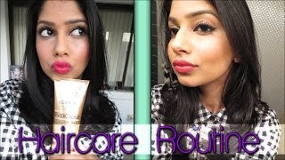 My Haircare Routine! Perfect for Indian Hair!