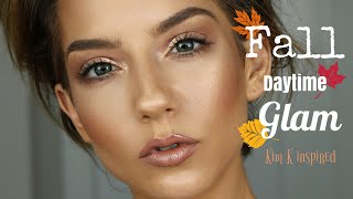 Fall Daytime Glam | Kim K Inspired