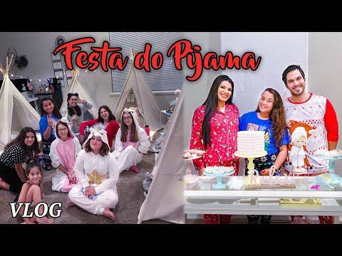 Festa do Pijama   Aniversário da Yasmin