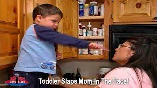 Toddler Slaps Mom In The Face! | Supernanny USA