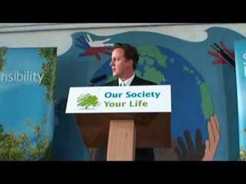 David Cameron at Kids Company