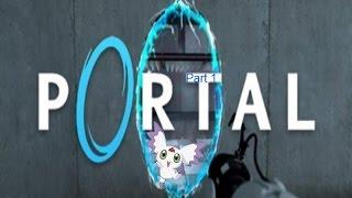 Lets Play Portal #001 test 1-8 warum ein funk signal im radio is weis nicht