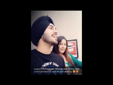 Rohanpreet Singh Dil Diyan Gallan Song With Shehnaz Gill Kour Youtube