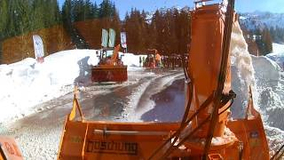 SCHILTRAC Schneefräse KFS 850 - maximale Übersicht