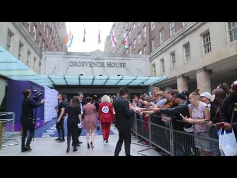 Silver Clef Awards Blondie Red Carpet Arrival