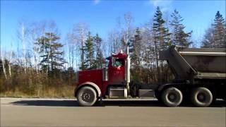 Dump Truckin' on a Busy Dirt Road