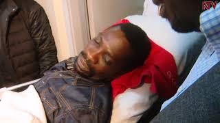 MP Robert Kyagulanyi being treated in Lubaga hospital thumbnail