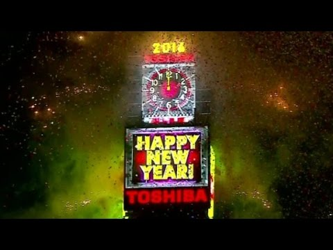Watch Times Square New Years Eve ball drop