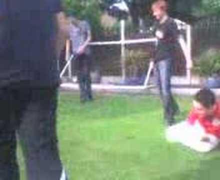 Fighting in Charlies Garden