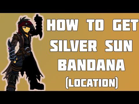 =AQW= How to get Silver Sun Bandana (Location)♥