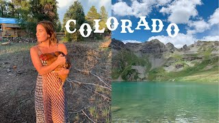 A Week in C๐lorado | thrifting, exploring & camping