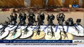 دفاع : الجيش يكشف و يدمر مجموعة من المخابئ للإرهابيين ببرج باجي مختار