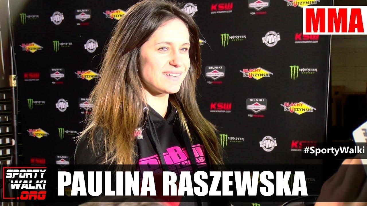 KSW 42: Paulina Raszewska odpiera zarzuty o doping