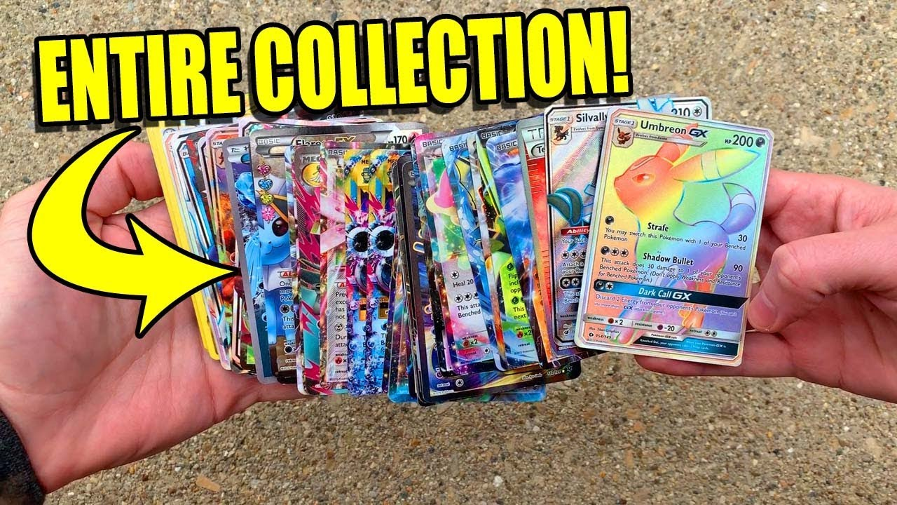 Download Someone's ENTIRE COLLECTION OF EX/GX POKEMON CARDS Was Sent To Me!