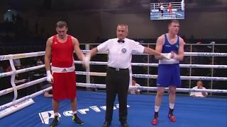 Как Виктор Выхрист уложил ирландца на ЧЕ-2017 в Харькове