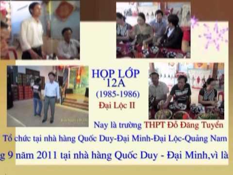 Hình ảnh họp lớp 12A tại Đại Minh