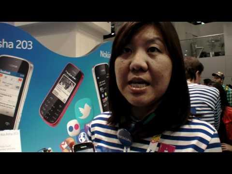 Nokia Asha 202 and Nokia Asha 203