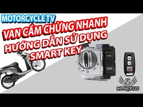 Cách thuần hoá smart key và mất garenti trên Honda tay ga đề từ