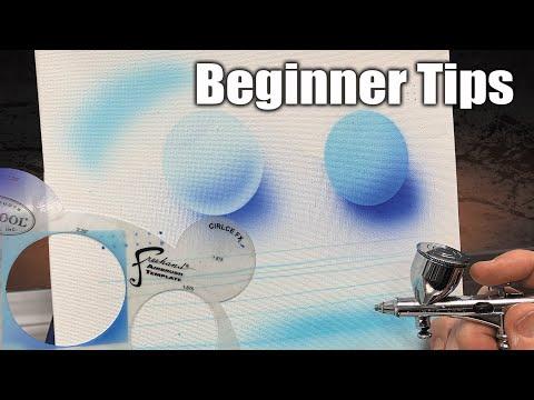 Airbrushing For Beginners   Easy Tips