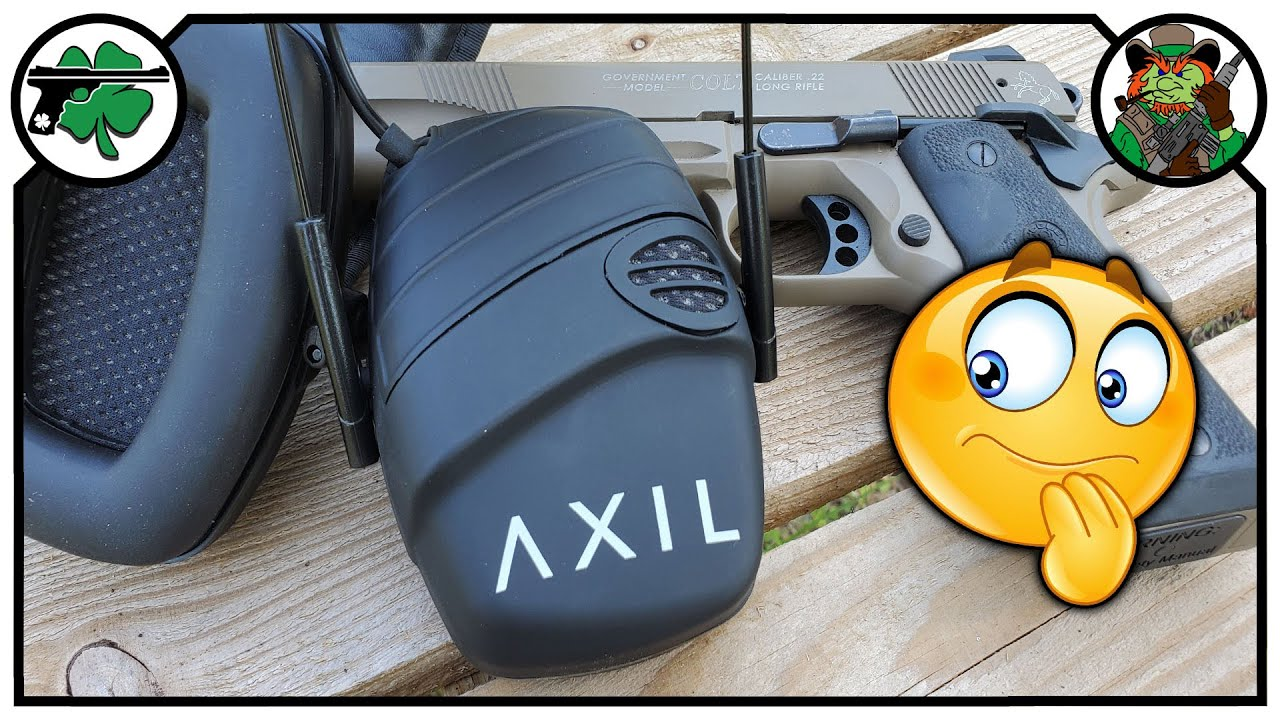AXIL TRACKR Electronic Hearing Protection - FIRST Look