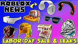 ROBLOX NEWS: Labor Day Sale, Leaked Items & New AWESOME User Generated Content (UGC)