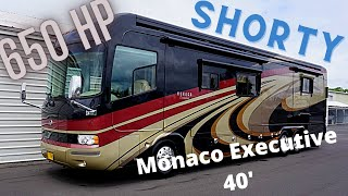 09 Monaco Executive 40' 650HP Awesome Coach Big, Power Short Bus