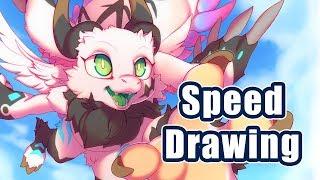 Ron Dragon | Furry Kemono Speed Drawing