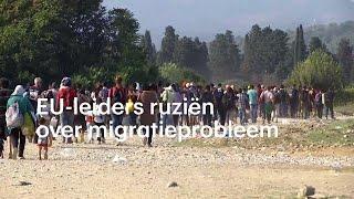Minder migranten, maar ruzie over migratie steeds  - RTL NIEUWS