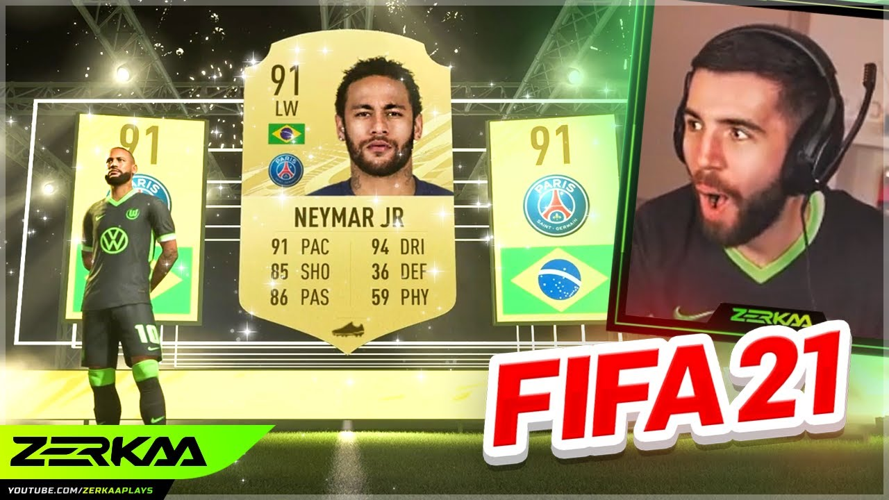 I PACKED NEYMAR IN A FIFA 21 UPGRADE PACK! (FIFA 21 Pack Opening)