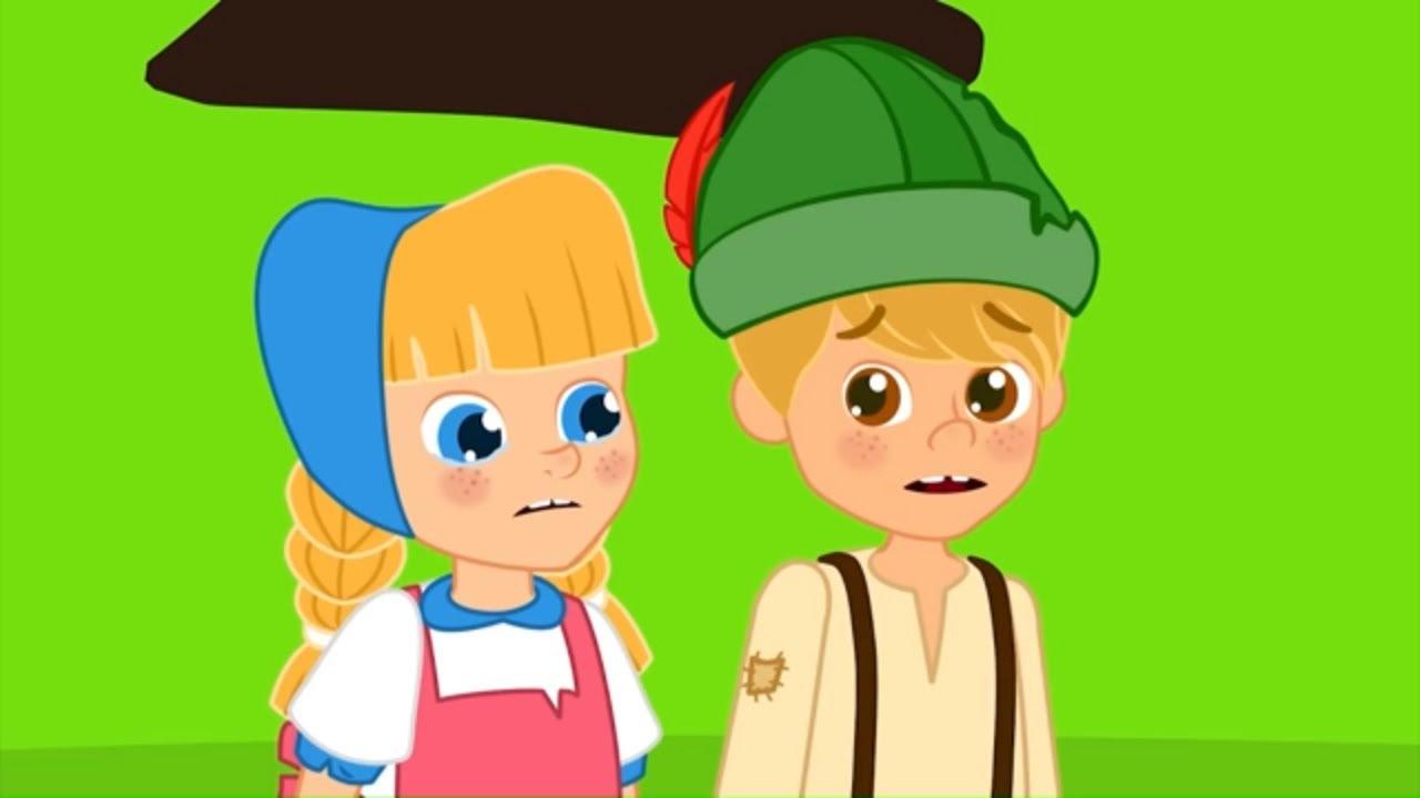 هانسل وجريتل - قصص للأطفال - قصة قبل النوم للأطفال - رسوم متحركة