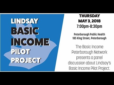 Panel Discussion: Lindsay Basic Income Pilot Project