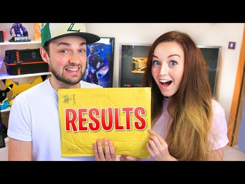 We got our DNA results...!