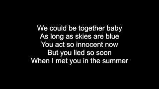 Repeat youtube video Summer - Calvin Harris with lyrics on screen! HQ