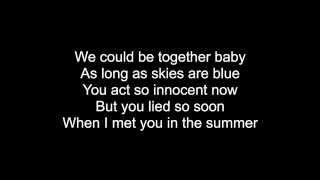 Summer - Calvin Harris with lyrics on screen! HQ