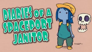 DIARIES OF A SPACEPORT JANITOR Gameplay Review/Preview