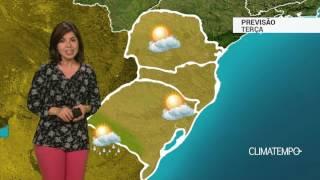 Previsão Sul – Chance de chuva na fronteira gaúcha