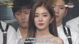 """[Vietsub] Park Bo Gum - Irene """"The last"""" Music Bank ending 160624"""