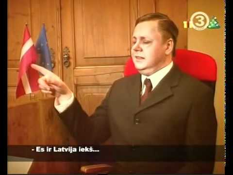 Atis Slakteris - Nothing special (interview about Latvia) [parody]
