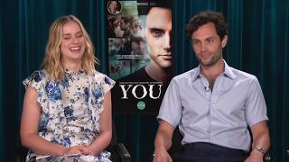 Penn Badgley talks about playing a dark character in YOU