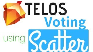 Telos Voting Using Scatter + Setting Vote Proxy