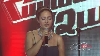 Astghik Martirosyan,Skyfall by Adele - The Voice Of Armenia - Blind Auditions - Season 2