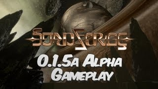 Starforge 0.1.5a Playable Alpha Release Gameplay