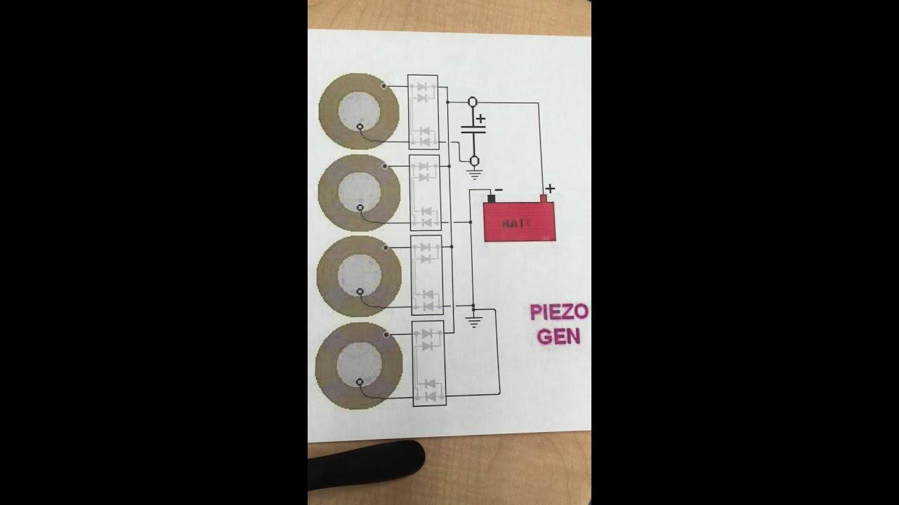 piezo generator circuit wiring piezo generator circuit wiring